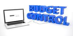Budget Control Stock Illustration