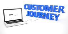 Customer Journey - stock illustration