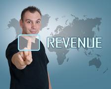 Revenue - stock photo