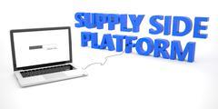Supply Side Platform - stock illustration