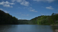 Time Lapse Shot of Lake in Brady's Run Park Stock Footage