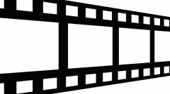 filmstrip panning across seamless loop - stock footage