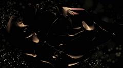 Dark cosmic substance Stock Footage