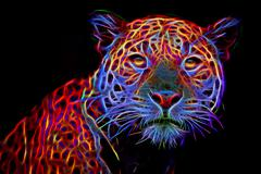 Jaguar illustration Stock Illustration