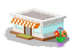 Shop market building vector illustration Stock Illustration