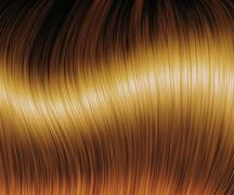 Stock Illustration of Brown hair texture