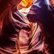 The Antelope Canyon, near Page, Arizona, USA Stock Photos