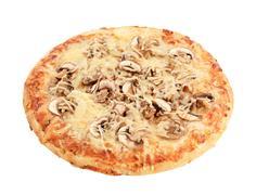 Pizza Fungi - stock photo