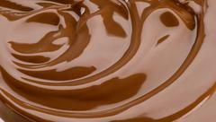 Silky chocolate - stock photo