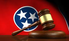 Tennessee Law Legal System Concept Stock Illustration