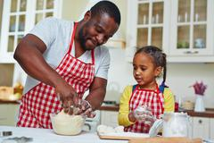 Pastry for kids Stock Photos