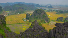 Mue cave viewpoint zoom out  timelapse 4K Stock Footage