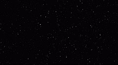 Loopable stars background element, 4k Stock Footage