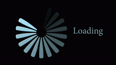 Animation, download loading progress bar, 4K Stock Footage