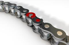 Bicycle Chain Missing Link Piirros