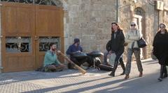 ISRAEL, OLD JAFFA, TEL AVIV  Stock Footage