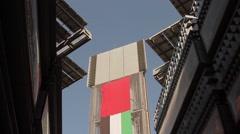 Masdar Wind Tower Stock Footage