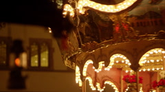 Christmas Market in Germany Stock Footage