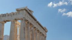 Acropolis, Athens, Greece, Timelapse, 4k Stock Footage