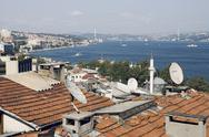 Stock Photo of View over Istanbul