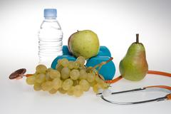 Concept for diet, healthcare, nutrition or medical insurance. Stock Photos