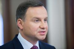 President of the Republic of Poland Andrzej Duda - stock photo