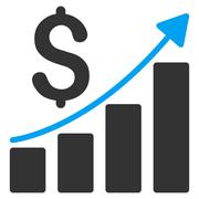Stock Illustration of Financial Report Icon