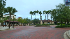 St Augustine FL visitor center - stock footage