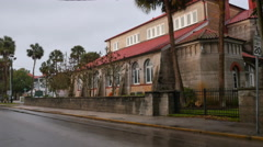 St Augustine United Methodist Church Stock Footage