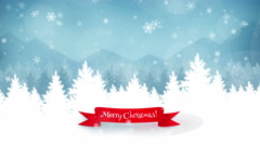 Merry Christmas Background 01 - stock footage