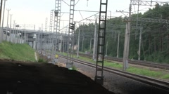 Train Rides on the Railroad Stock Footage
