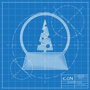 Stock Illustration of Vector christmas icon