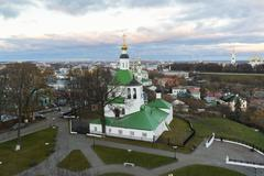 Vladimir, Russia - November 05. 2015. The Church of St. Nicholas was built in - stock photo