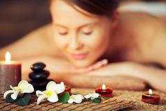 Aromatherapy - stock photo