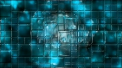 Abstract Tiled Background Animation - Loop Blue Stock Footage