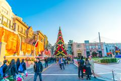 Osaka, Japan - 1 December 2015: The theme park attractions based on the film  - stock photo