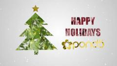 Happy Holidays Wishes - stock after effects