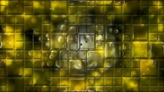 Abstract Tiled Background Animation - Loop Yellow Stock Footage