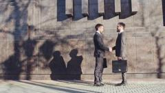 Meeting Before Workday - stock footage