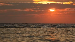 WaterScenery Sunset - stock footage