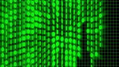 The Matrix, Binary Code, 4K Animation Stock Footage