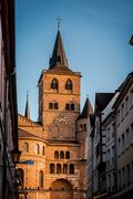 Roman Catholic Cathedral of Saint Peter in Trier - stock photo
