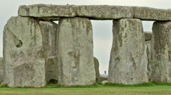 Views of the Stonehenge Stock Footage