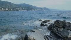 Golf Of Tigullio Italian Riviera - 29,97FPS NTSC Stock Footage