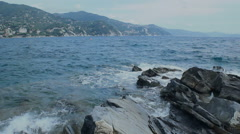 Golf Of Tigullio Italian Riviera - 25FPS PAL Stock Footage