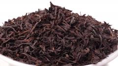 Rotating pile of black tea Stock Footage