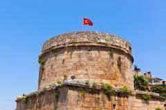 Stock Photo of Old fort in Antalya, Turkey