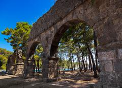Stock Photo of Old town Phaselis in Antalya, Turkey
