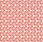 Stock Illustration of Abstract background or hexagonal pattern pink red textile
