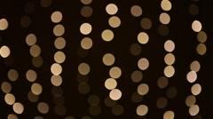 defocused christmas lights background - stock footage